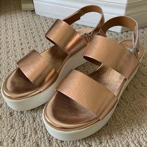 Steve Madden Flatform Sandals
